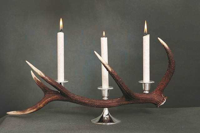 Lfe candele e candelieri hilife candeliere corno cervo