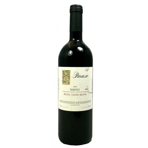 PARUSSO - Barolo DOCG Bussia Vigna Munie - 1997 - 750ml - Italy - Red Wine