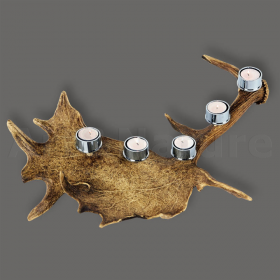 Candles holder fallow deer ant