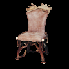 Chair by deer and fallow deer antlers, leather, hunting, chalet, furniture - 114406