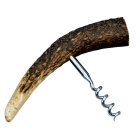 Corkscrew made by deer antler,