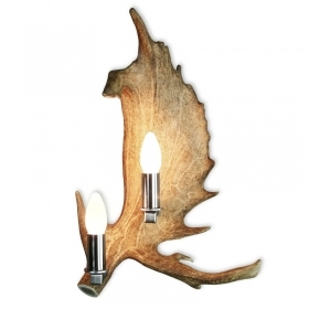 Applique, wall lamp with real