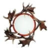Ceiling light with real fallow deer antlers. 1xE27 60x60x15cm 152201