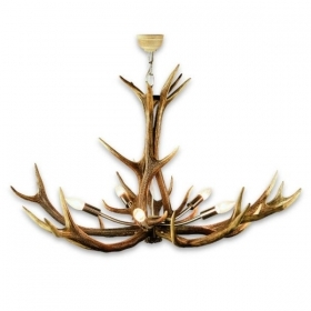 Chandelier with real deer antlers. Lighting. 5xE14 M: 80x80x80cm 15780301
