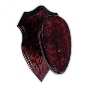 Wooden shield for mouflon trop