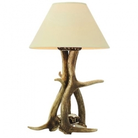 Lamp with real deer antlers. NO Lampshade. 159620