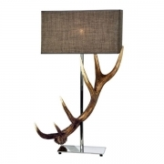 Lamp with real deer antlers. NO Lampshade. 159625