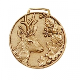 Medal for Trophy roedeer GOLD.